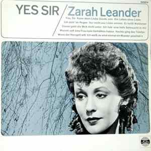 Zarah Leander - Yes, Sir! Album
