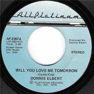 Donnie Elbert - Will You Love Me Tomorrow / What Do You Do Album