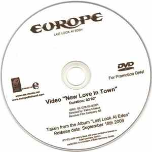 Europe - New Love In Town Album