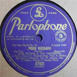 Jack Purvis & His Orchestra / Eddie Condon & His Orchestra - Poor Richard / Makin' Friends Album