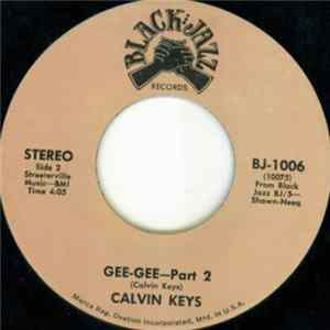 Calvin Keys - Gee-Gee Part 1 / Part 2 Album