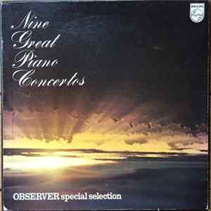 Various - Observer Special Selection: Nine Great Piano Concertos Album