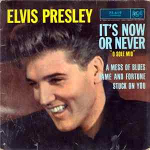 Elvis Presley With The Jordanaires - It's Now Or Never Album