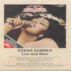 Donna Summer - Live And More Album