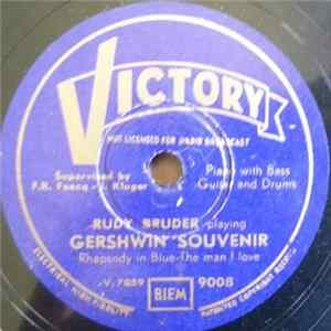 Rudy Bruder - Gershwin Souvenir / Spring Will Be A Little Late This Year - White Christmas Album